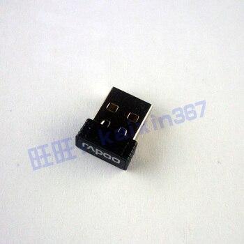 1pc Original usb récepteur usb dongle adaptateur pour RAPOO 9020 9060 8130 + E1050 E9070 E9050 sans fil adaptateur/émetteur