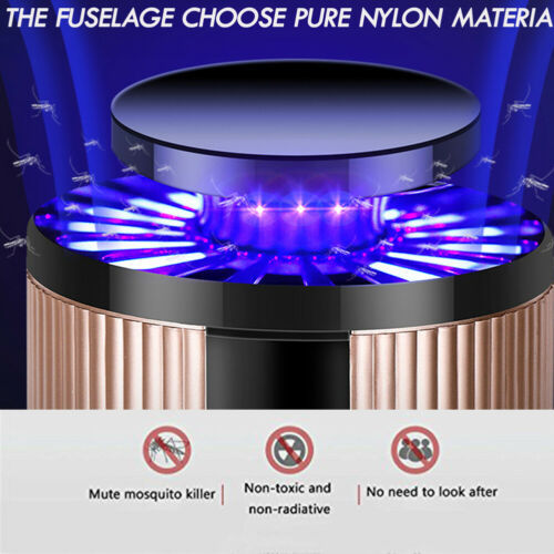 USB Mosquito Insect Killer Electric LED Light Fly Bug Zapper Trap Catcher Lamp USB Gadgets 2