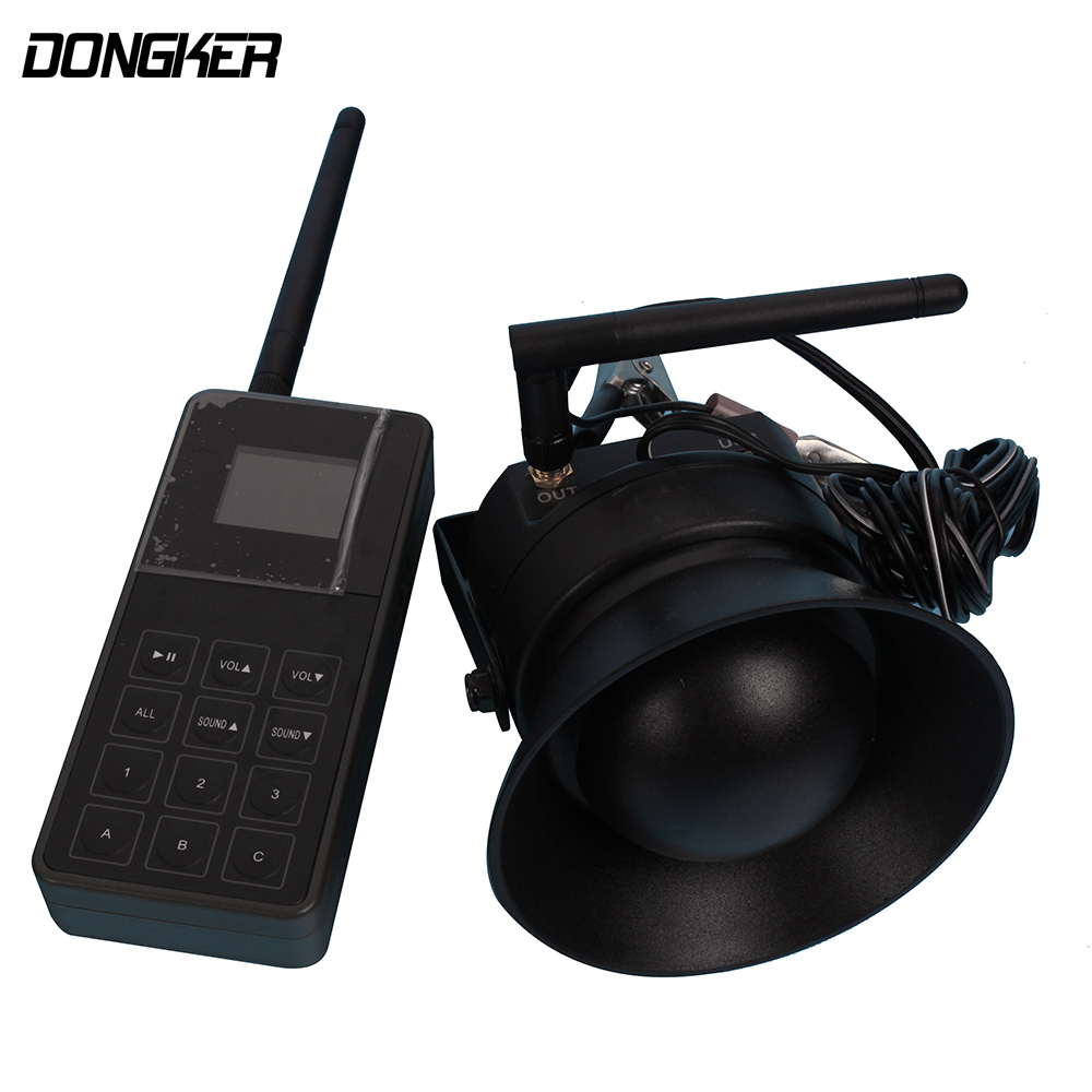 CP-830B 250 Yards Wireless Remote Control Wild MP3 Bird Caller 50W 150dB Electronic Birds Callers Speakers Machine 2 receivers 60 buzzers wireless restaurant buzzer caller table call calling button waiter pager system