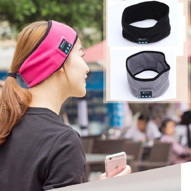 Wireless Bluetooth Hat earphone Headset Headphone Bluetooth speaker outdoor sports Yoga Sweat Scarf mp3 player handsfree