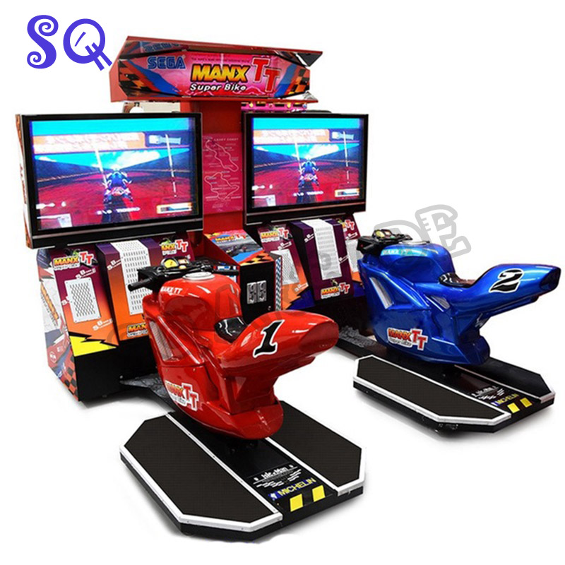 Amusement Machine Coin Operated Simulator 3D Drift Moto Driving Motorbike Car Racing Video Arcade Game Machine