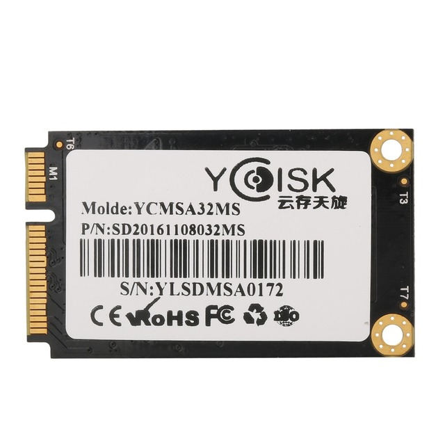 Goldendisk YCdisk Serial SMI 2244LT 32GB Intel SSD mSATA Solid State Drive SSD 32gb SATA II 3gb/s Factory on Stock Intel Flash