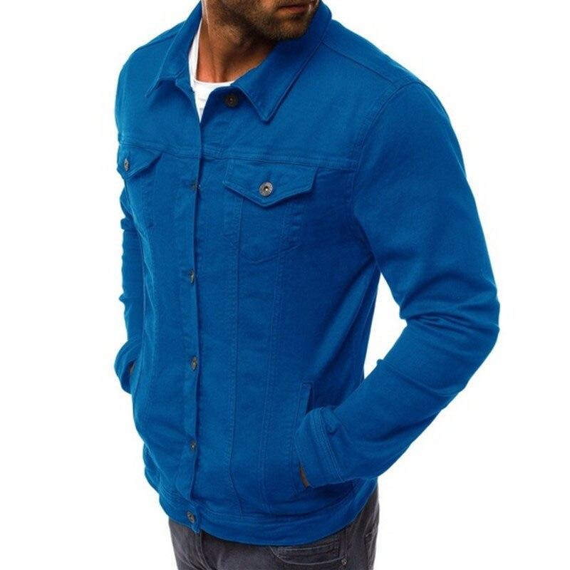 HTB1L0UXLPTpK1RjSZKPq6y3UpXaB 2019 men's Jacket casual overalls jacket jacket Coats Man Buttons