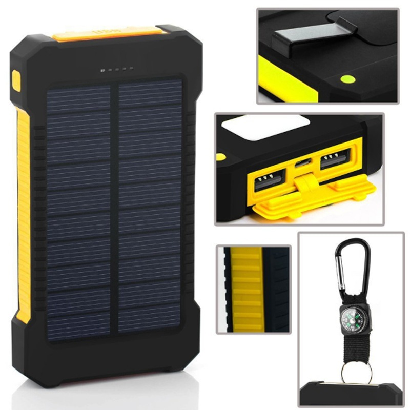 10pc Solar Charger Waterproof Power Bank nesting accessories Solar diy box shell External Charger Powerbank for Digital products