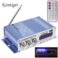 HY502S Bluetooth Car Power Amplifier Stereo Sound Mode HiFi 2 Channel Mini Digital FM Audio MP3