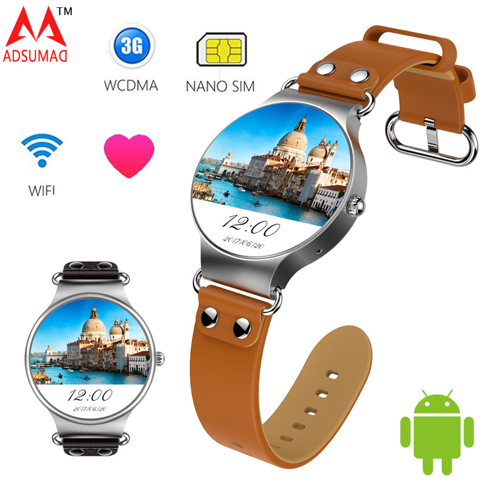 Android Smart watch KW98 512MB 8GB Health Heart Rate Monitor Sports Tracker GPS Bluetooth Wifi 3G Smart Watch Phone SIM Card цена