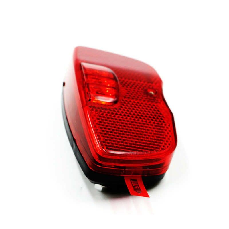 Светодиоды красный безопасный велосипедный фонарь фонарик AA Замена крепление для аккумулятора на задней стойке велосипедная Задняя рама свет MTB дорожный фонарь для велосипеда