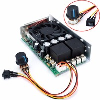 DC 10 50V Motor Speed Controller Programable Reversible 15khz PWM Control 100A 3000W