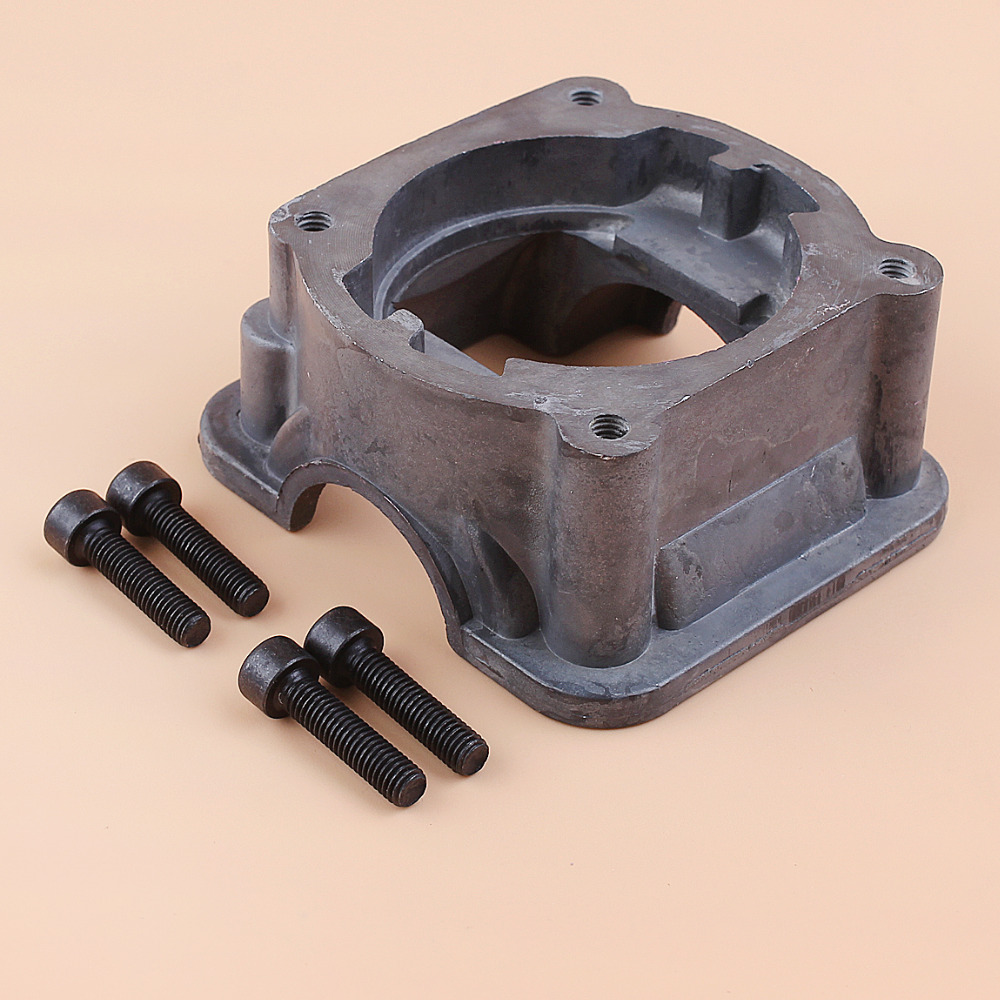 Cylinder Bottom Adaptor Engine Motor Pan Base For HUSQVARNA 340 350 345 346 XP Chainsaw Parts