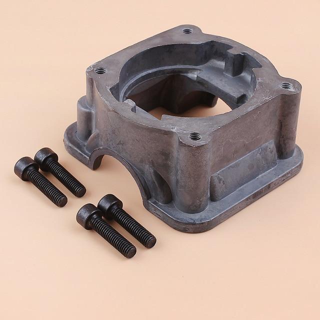 Cylinder Bottom Adaptor Engine Motor Pan Base For HUSQVARNA 340 350 345 346 XP Chainsaw Parts