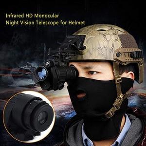 Image 5 - Chiến Thuật Hồng Ngoại Quan Sát Ban Đêm Thiết Bị Tích Hợp Hồng Ngoại Chiếu Sáng Săn Bắn Riflescope Một Mắt Cho Chụp Hình, PVS 14 Ngày Đêm