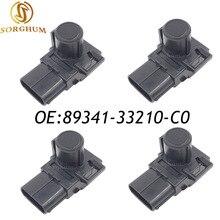 4 PCS PDC Sensore di Parcheggio di Backup Per Toyota Camry 2012-2015 Land Cruiser 89341-33210-C0 Nero