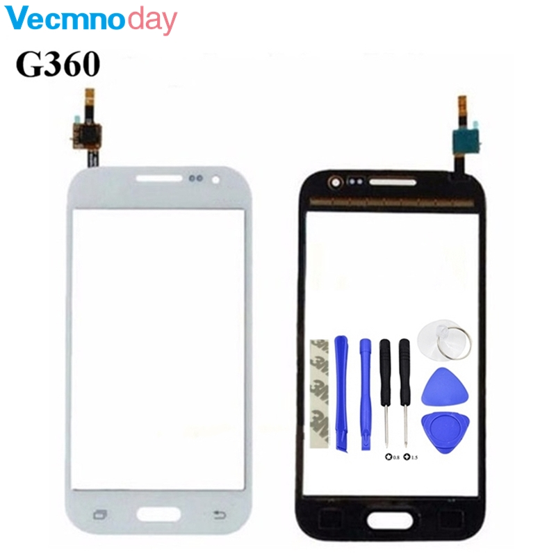 Vecmnoday G360F G361 Touch Screen Digitizer Glass For Samsung Galaxy Core Prime G361 G361F G360 G3608 touch screen+tools