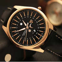 Top Brand YAZOLE Luxury Rose Gold Watch Men Watch Fashion Business Watch Waterproof Luminous Quartz Watches Hour reloj hombre