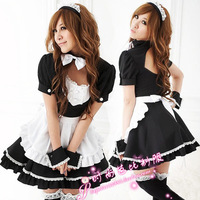 Free Shipping Maid Lolita Christmas Cosplay Uniform Sexy Lingerie Costumes Sexy Babydolls Long Underwear Nightgowns Sleepwear
