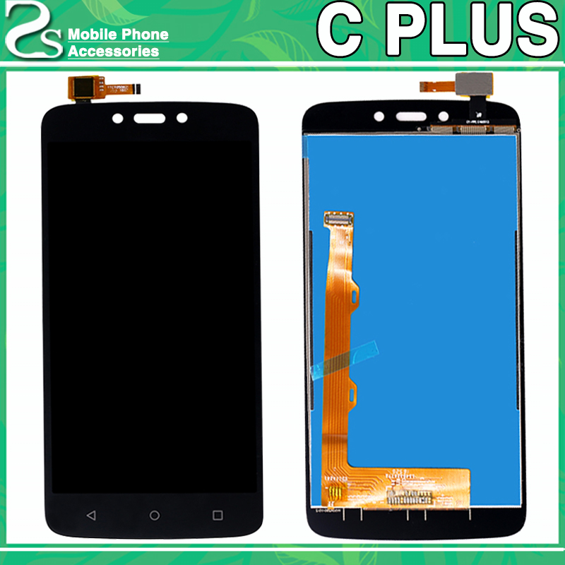 For Motorola Moto C Plus LCD Display XT1721 XT1722 <font><b>XT1723</b></font> XT1724 XT1725 LCD Touch Screen Glass Digitizer Panel Full Assembly image