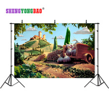 SHENGYONGBAO Vinyl fairy tale Photography Backdrops Prop Digital Printed Pictorial cloth Background CHXI-05