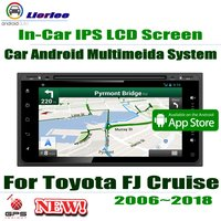 7 HD Full Touch ips ЖК экран Android 8 Core для Toyota FJ Cruiser (GSJ10) 2006 ~ 2018 автомобильный Радио, аудио и видео gps DVD CD система