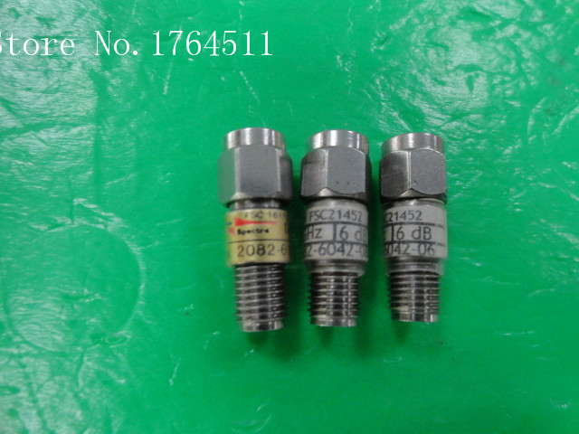 [BELLA] M/A-COM 2082-6042-06 DC-18GHz 6dB 2W SMA RF Coaxial Fixed Attenuator  --2PCS/LOT
