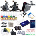 New Fashion Compass Tattoo Kit Cook Series Machine Inks Power Supplies compass-005