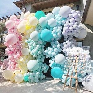 Image 5 - 30 pcs 5 Inch Macarons Kleur Pastel Candy Ballonnen Latex Ronde Helium Ballonnen Voor Verjaardagsfeestje