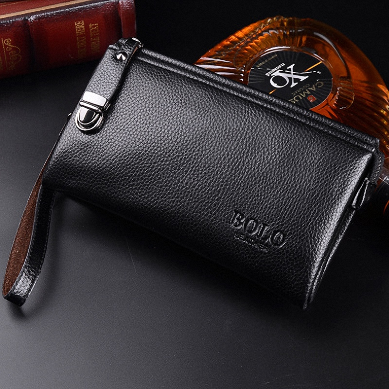 famosa marca do vintage homens Men Purse : Portefeuille Homme