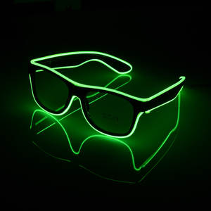 noroomaknet Luminous LED Glasses Light Party Supplies
