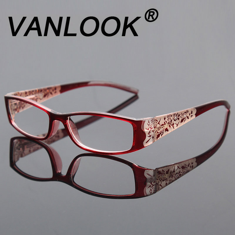 Floral Reading Glasses Rhinestone Women Gafas De Lectura Eyeglass Frames Luxury Fashion Spectacles +100 150 200 250 300 350 400