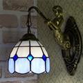 Свет минималистский средиземноморские настенные лампы для коридора номер столовая спальня отель светодиодное освещение стены DF49