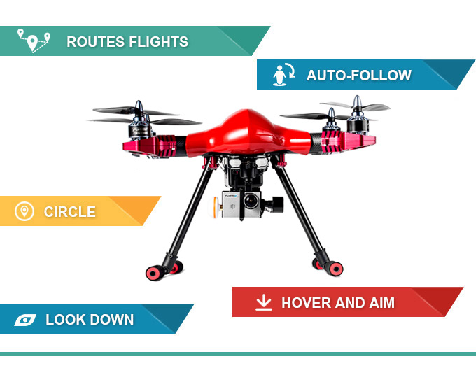 FLYPRO PX400 PRO: World\'s First Auto-follow and FPV Drone
