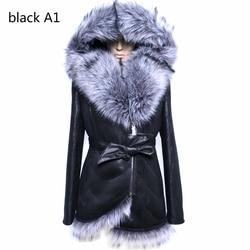 Factory direct supplier winter new cheap splicing highend fox fur coat women fashion faux collar suede.jpg 250x250