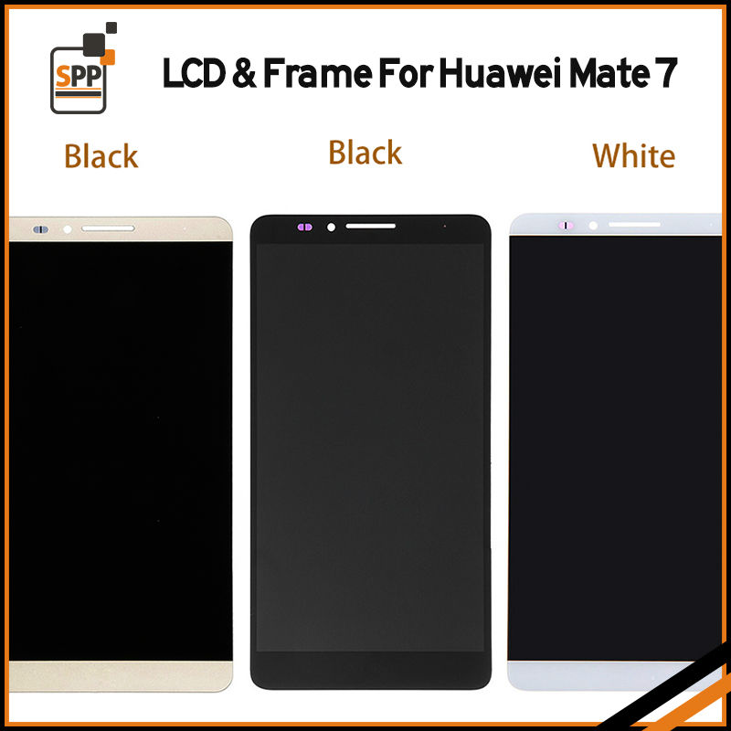 LCD display touch digitizer assembly for huawei mate 7 mate 8 LCD screen replacement black white gold pantalla free shipping 6 lcd display screen touch glass digitizer assembly for huawei ascend mate 8 mate8 white gold free shipping