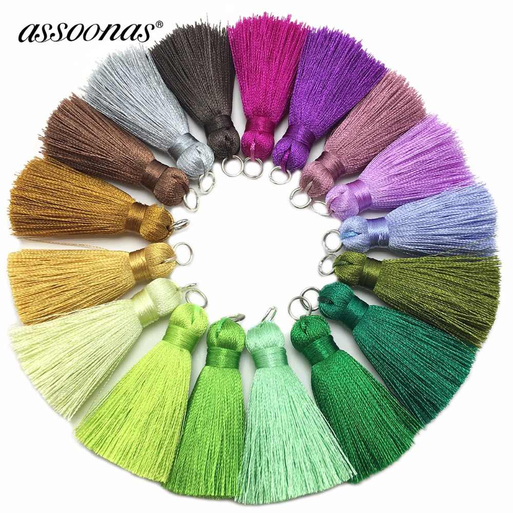 assoonas L87,4CM,tassel,silk tassels,earring findings,jewelry accessories,accessories parts,jewelry components,hand made,2pcs