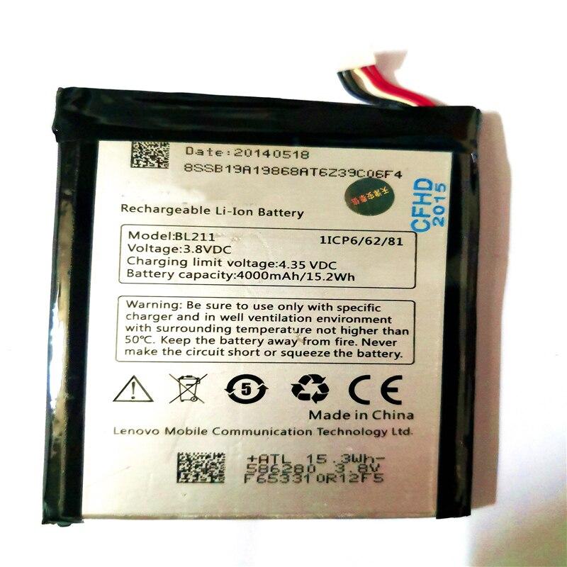 3.8 v 4000 mah BL211 cellulaire téléphone batteryFor Lenovo P780 Batterie Smart Mobile Téléphone avec Outils De Réparation pour le cadeau