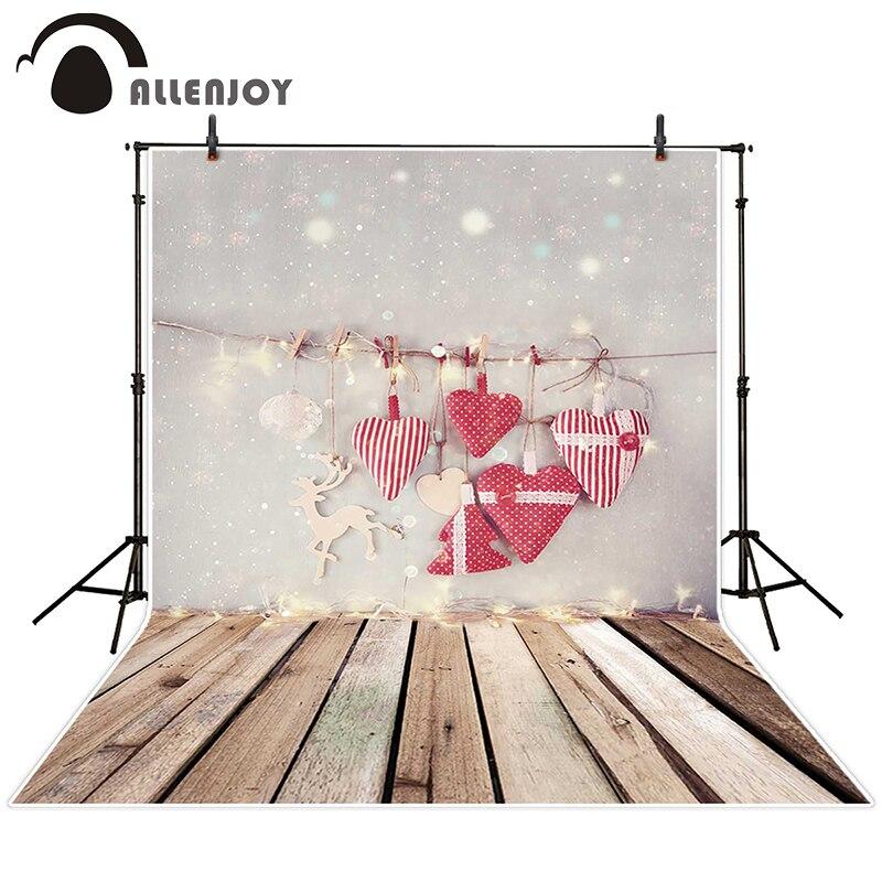 Allenjoy photographic background Christmas love snow spot backdrops children wedding vinyl summer 200cm*300cm ковер love of snow