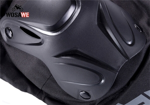 Image 4 - WOSAWE Motorcycle Elbow Pads and Knee Pads Adult Snowboard Volleyball Cycling Hockey Pads Arm Guard Protective Armor Gear