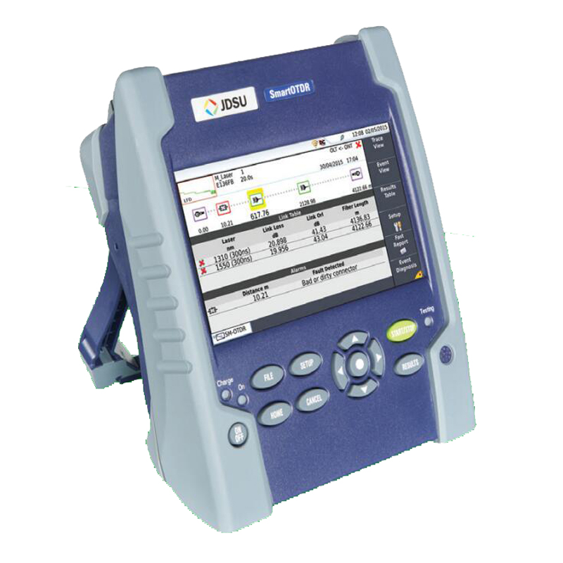 Handheld JDSU SmartOTDR 100AS OTDR 30/30dB E100AS single mode 1310/1550nm Optical Time Domain Reflectometer BY DHL