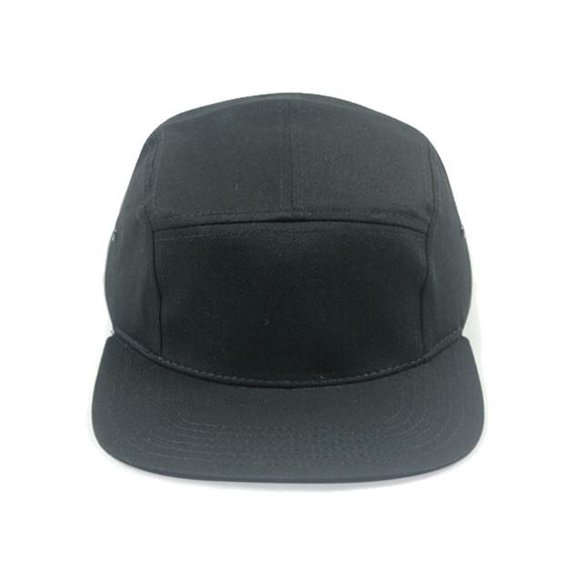 Personalizado snapback chapéus livre texto logotipo bordado 5 painéis de algodão das mulheres dos homens tampas ajustáveis gorras preto personalizado frete grátis