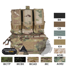 Emerson Tactical MOLLE Assault Pack Panel EmersonGear Plate Carrier Back Bag w/ M4 M16 Magazine Pouch for CPC NCPC AVS Vest