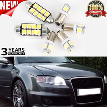 6PCS LED smd Interior light for interior reading lamp car styling super bright source bulb white new