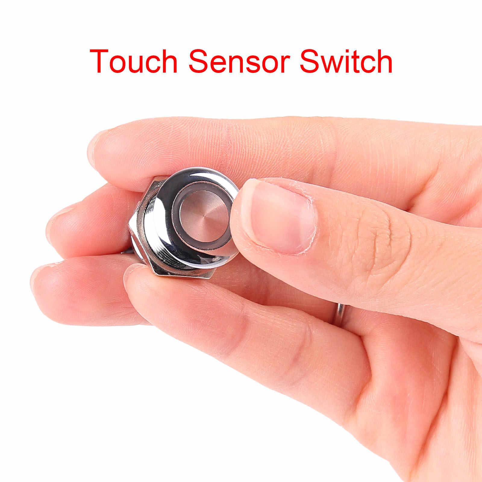 Сенсорный датчик детектор сенсорный выключатель для светодиодной ленты DC 5-24 V 3A Свет Диммер постоянного тока 12 V 24 V Интеллектуальный контроллер