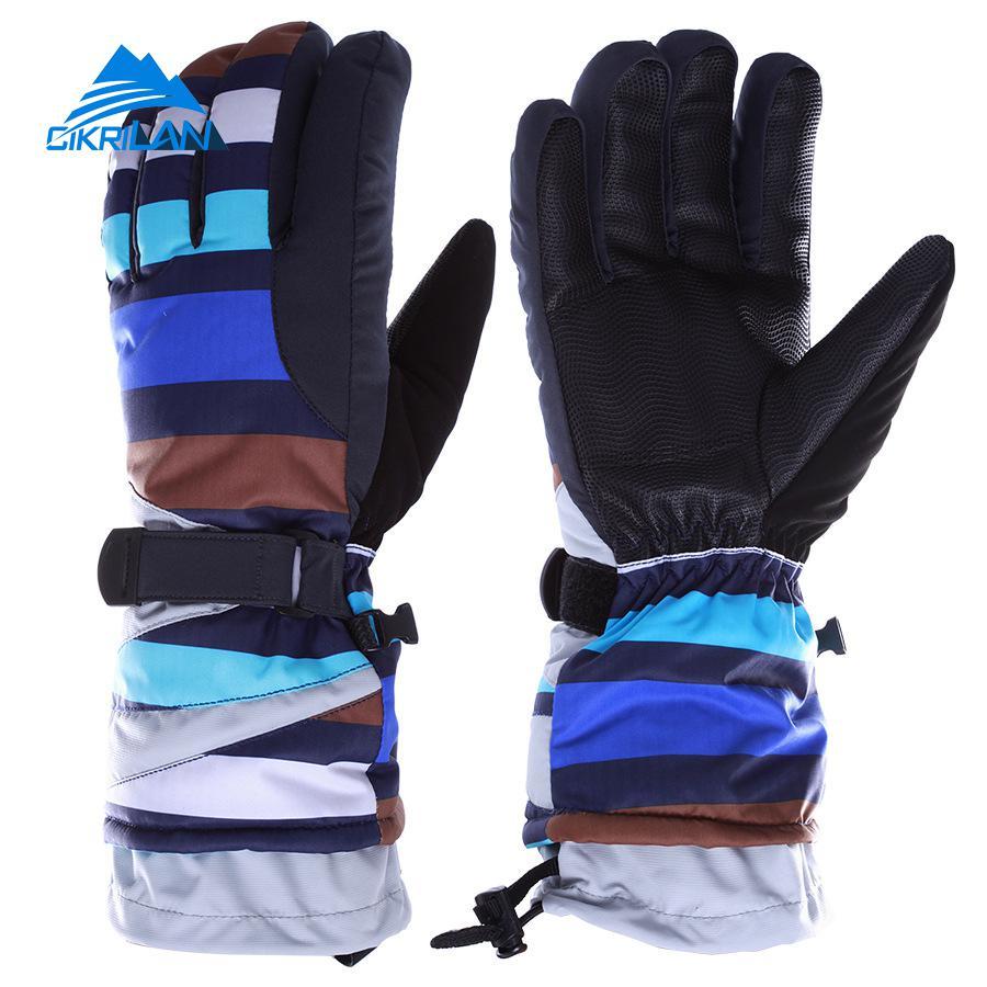 Mens ski gloves xxl - Hot Sale New Unisex Winter Warm Snowboard Motorcycle Ski Gloves Waterproof Thicker Women Men Skiing Snowmobile