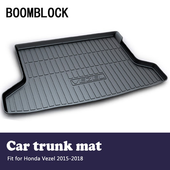 BOOMBLOCK Car Accessories Covers Trunk Mat Cargo Liner For Honda Vezel 2018 2017-2015