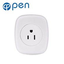 OPSA-001 10A Wifi Smart Switch Power Plug Socket US 220V Wireless Light Outlet Timer Remote Control Support Alexa Google Home цена