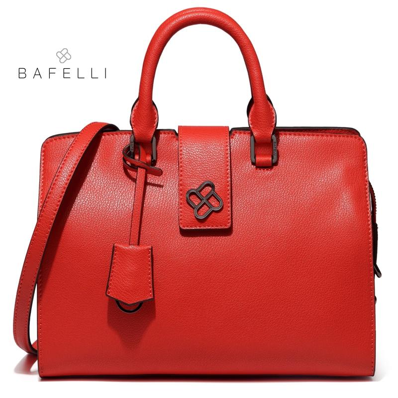 BAFELLI split leather doctor handbags zipper & hasp dress womens shoulder bag box black briefcase bolsa feminina women handbag сарафаны doctor e сарафан