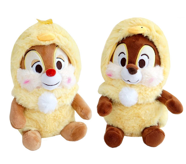 Chip And Dale Plush Toy Easter Chick Rabbit Bunny Dress Cute