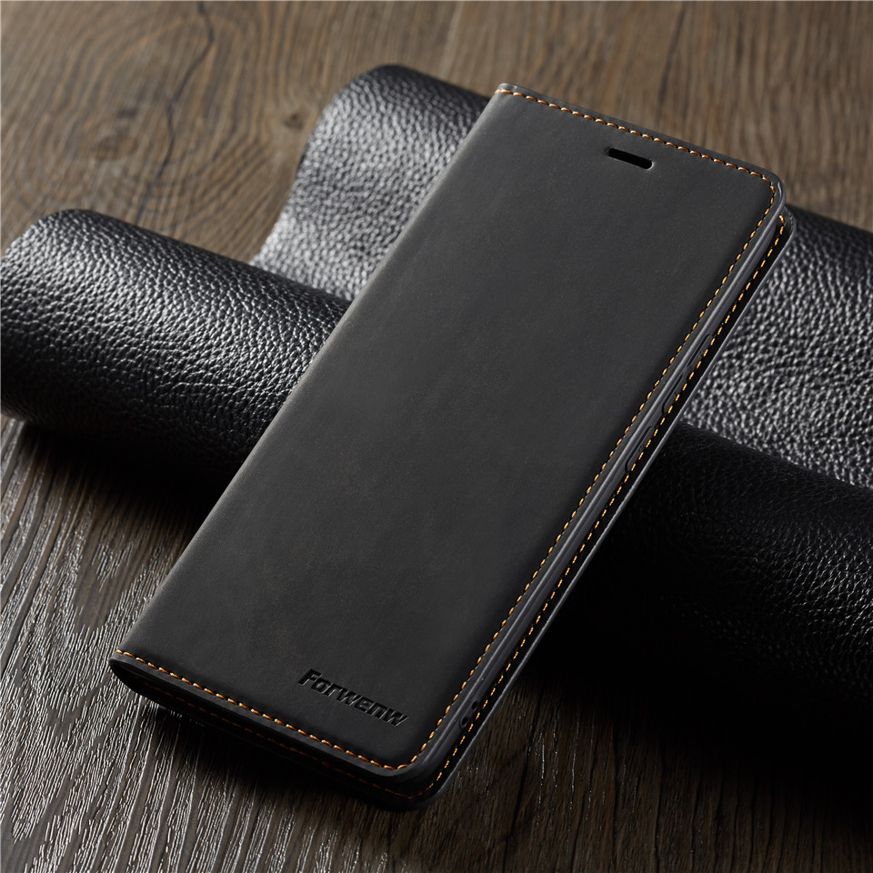 A6 A7 A8 2018 Phone Wallet Case Holder Magnet Stand Cove For Samsung Galaxy S10 S9 S8 Plus S10e Note9 Luxury Leather Flip Case