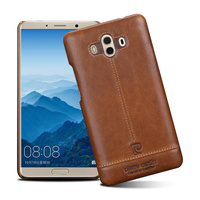 Original Pierre Cardin Case For Huawei Mate 10 Back Case Cover Vintage Genuine Leather Case For