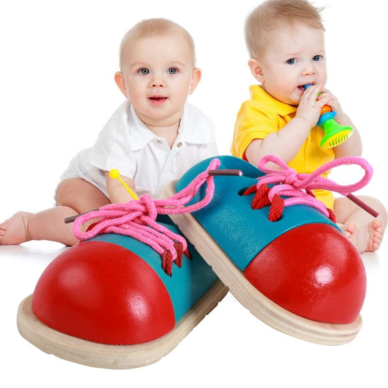 AOSST Drvene igračke djeca rano obrazovanje učenja fino motor - Igre i zagonetke - Foto 4