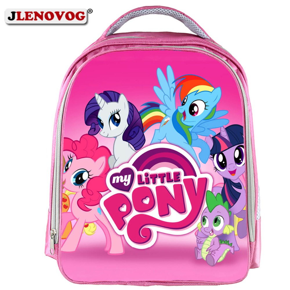 2019 My little pony Magic School bags Cute Children small Kindergarten  schoolbag Casual orthopedic Backpack for boys girls Pink 5a9dcc3a3c955